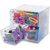 DEF350301 - Deflecto Stackable Cube Organizer