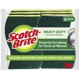 MMM426 - Scotch-Brite -Brite Heavy-Duty Scrub Sponge...