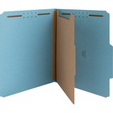 "Nature Saver Colored Classification Folder - Letter - 8 1/2"" x 11"" Sheet Size - 2"" Fastener Capacity NATSP17200"