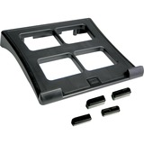 "DAC Notebook Stand - 2"" Height x 11.5"" Width x 13"" Depth - Black DTAMP195"