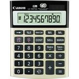 CNMLS100TSG - Canon LS100TSG Mini-desktop Calculator