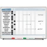 "QRT33704 - Quartet Matrix® In/Out Board, 23"" x 16""..."