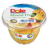 Dole Mixed Fruit Cup - Mixed Fruit - 7 oz - 12 / Carton DFC71924