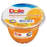 Dole Fruit Cup - Mandarin Orange - 5 lb - 12 / Carton DFC74206011