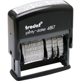 USSE4817 - Trodat 12-Message Business Stamp
