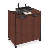 "Mayline 2110MU Printer Cabinet - 150 lb Load Capacity - 1 x Shelf(ves) - 31"" Height x 27"" Width x 20 MLN2110MUMAHBLK"
