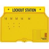 MLK1482B - Master Lock Unfilled Padlock Lockout Station...