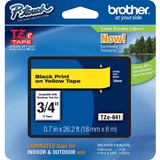 BRTTZE641 - Brother P-Touch TZe Flat Surface Laminated ...