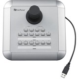 EverFocus USB Keyboard Controller with 3-Axis Joystick Control
