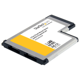 StarTech.com 2 Port Flush Mount ExpressCard 54mm eSATA II Controller Adapter Card