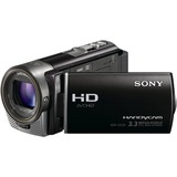 "Sony Handycam HDR-CX130 Digital Camcorder - 3"" - Touchscreen LCD - CMOS - Full HD, SD - Black"