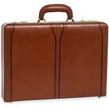 "MCK80454 - McKleinUSA Leather 3.5"" Attache Breifcase"