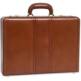 "MCK80434 - McKleinUSA Leather 3.5"" Attache Breifcase"