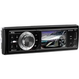 "Boss BV7335B Car DVD Player - 3.2"" LCD - 320 W RMS - Single DIN - DVD Video, MPEG-4, Video CD, SVCD, SDVD - AM, FM - Secure Digital (SD) - Bluetooth - Auxiliary InputiPod/iPhone Compatible - In-dash"