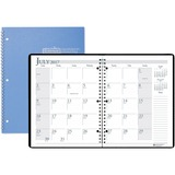 House of Doolittle Academic Planner - Monthly - 1.2 Year - July 2016 till August 2017 - 1 Month Doub HOD26308