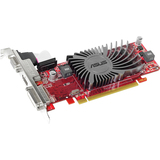 Asus EAH6450 SILENT/DI/1GD3(LP) Radeon HD 6450 Graphic Card - 625 MHz Core - 1 GB DDR3 SDRAM - PCI Express 2.1 - Low-profile - Single Slot Space Required