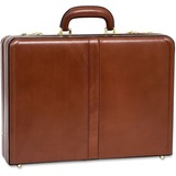 "MCK80474 - McKleinUSA Leather 4.5"" Expandable Attache Brie..."