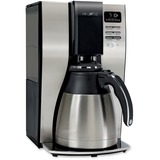 Mr. Coffee® Optimal Brew 10-Cup Thermal Programmable Coffeemaker, Black/Brushed Silver MFEBVMCPSTX91