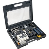 SYBA Multimedia 50 Piece Computer Network Installation Kit with Multi-Module Cable Tester