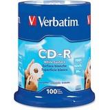 VER94712 - Verbatim CD-R 700MB 52X with Blank White Surfac...