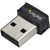StarTech.com USB 150Mbps Mini Wireless N Network Adapter - 802.11n/g 1T1R
