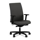 HON Ignition HIWM2 Mid Back Management Chair - Fabric Iron Ore Seat - Black Frame - 5-star Base - 20 HONIW114CU19