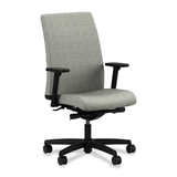 "HON Ignition HIWM2 Mid Back Management Chair - Vinyl Lithium Seat - Black Frame - 5-star Base - 20""  HONIW114AI19"