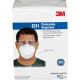 3M Particulate Respirator - Particulate Protection - White - 10 / Box MMM8511PB1A