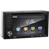 Boss Audio BV9362BI Double-DIN 6.2 inch Touchscreen DVD Player Receiver, Bluetooth, Wireless Remote - 4 Channels - DVD-RW, DVD+RW, CD-RW - DVD Video, VCD, MP4 - CD-DA, MP3, WMA - AM, FM - SD - Bluetooth - USB - Auxiliary Input - iPod/iPhone Compatible - In-dash