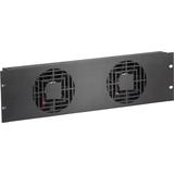 Raxxess 3U Quiet Dual Fan Panels