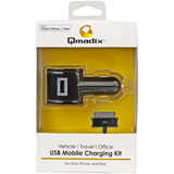 Qmadix QM-1500-AP USB Charging Kit for Apple iPod,iPhone and iPad