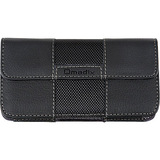 Qmadix Horizontal Deluxe Pouch for Samsung Galaxy S (Black)