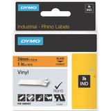 Dymo Black on Orange Color Coded Label