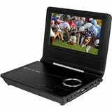 Azend Envizend ED8850B Portable TV and DVD Player - DVD-R, CD-RW - JPEG, BMP - DVD Video, MPEG-2, Video CD, SVCD, MPEG-4, DivX, XviD, MPEG-1 - 16:9 - CD-DA, AC3, DVD Audio, HDCD, MP3, MP3Pro, WMA, CD+G - 1 x Headphone Port(s) - USB - Lithium Polymer - 2.50 Hour