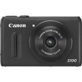 Canon PowerShot S100 12.1 Megapixel Compact Camera - Black