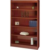 "Safco Square-Edge Bookcase - 36"" x 12"" x 60"" - 5 x Shelf(ves) - 500 lb Load Capacity - Cherry - Vene SAF1504CYC"
