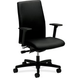 "HON Ignition Executive Mid Back Chair - 5-star Base - Black - 27"" Width x 29"" Depth x 44.3"" Height HONIWM3AHUNT10T"