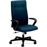 "HON Ignition Executive High Back Chair - 5-star Base - Mariner - 27"" Width x 27"" Depth x 46.8"" Heigh HONIEH1FHUNT90T"