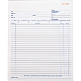 "Business Source All-Purpose Triplicate Form - 50 Sheet(s) - 3 Part - Carbonless Copy - 10.25"" x 8.38 BSN39555"