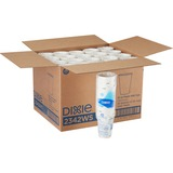 Dixie Pathways WiseSize Cup - 12 oz - 500 / Carton - White - Paper - Hot Drink DXE2342WSCT