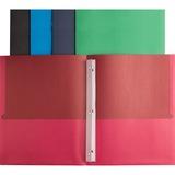 BSN78531 - Business Source Storage Pockets Fastener Folder...