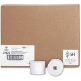 "Business Source Bond Paper - 2.25"" x 165 ft - 100 / Carton - White BSN31822"