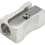 Integra Pocket Pencil Sharpener - 1 Hole(s) - Aluminum - Silver ITA42852