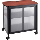 SAF1859BL - Safco Impromptu Black Deluxe Stand with Doors