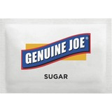 Genuine Joe Pure Sugar Packets - Packet - 0.10 oz - 1200/Box GJO02390