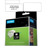 "Dymo Postage Labels - 2.25"" Width x 7"" Length - 150 / Roll - Direct Thermal - White - 150 / Roll DYM30383"