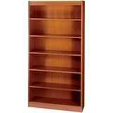 """Safco Square-Edge Bookcase - 36"""" x 12"""" x 72"""" - 6 x Shelf(ves) - 600 lb Load Capacity - Square Edge,  SAF1505CYC"""