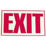 "Miller's Creek Luminous Exit Sign - 1 Each - Exit Print/Message - 9.8"" Width x 7.8"" Height - Rectang MLE151832"