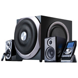 Edifier S730 2.1 Speaker System - 300 W RMS - Wireless Speaker(s) - Piano Black