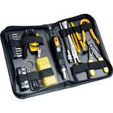 SYBA Multimedia 43 Piece PC Basic Maintenance Tool Kit with Chip Extractor and Wire Stripper